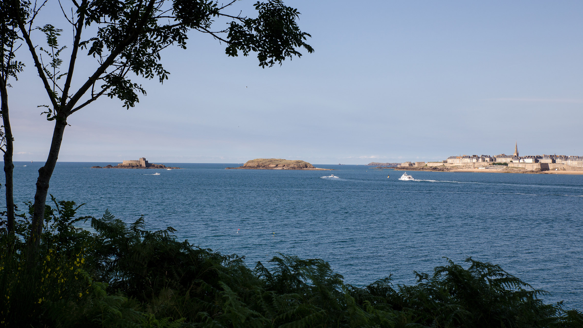 View on Saint-Malo
