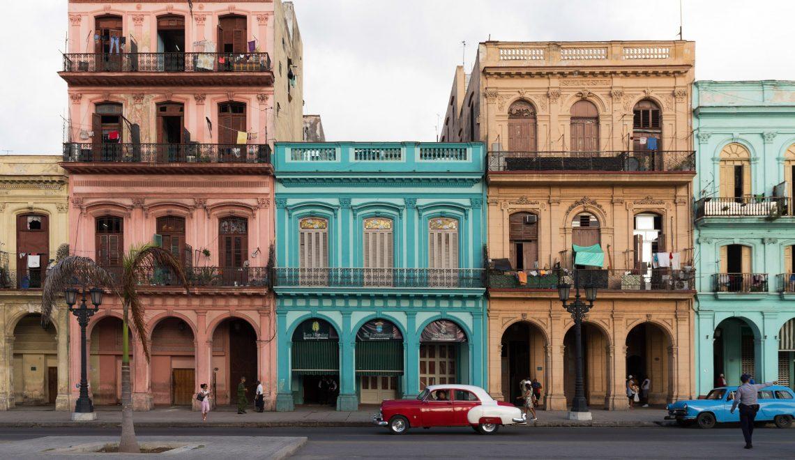 Havana, Cuba - Paseo de Marti